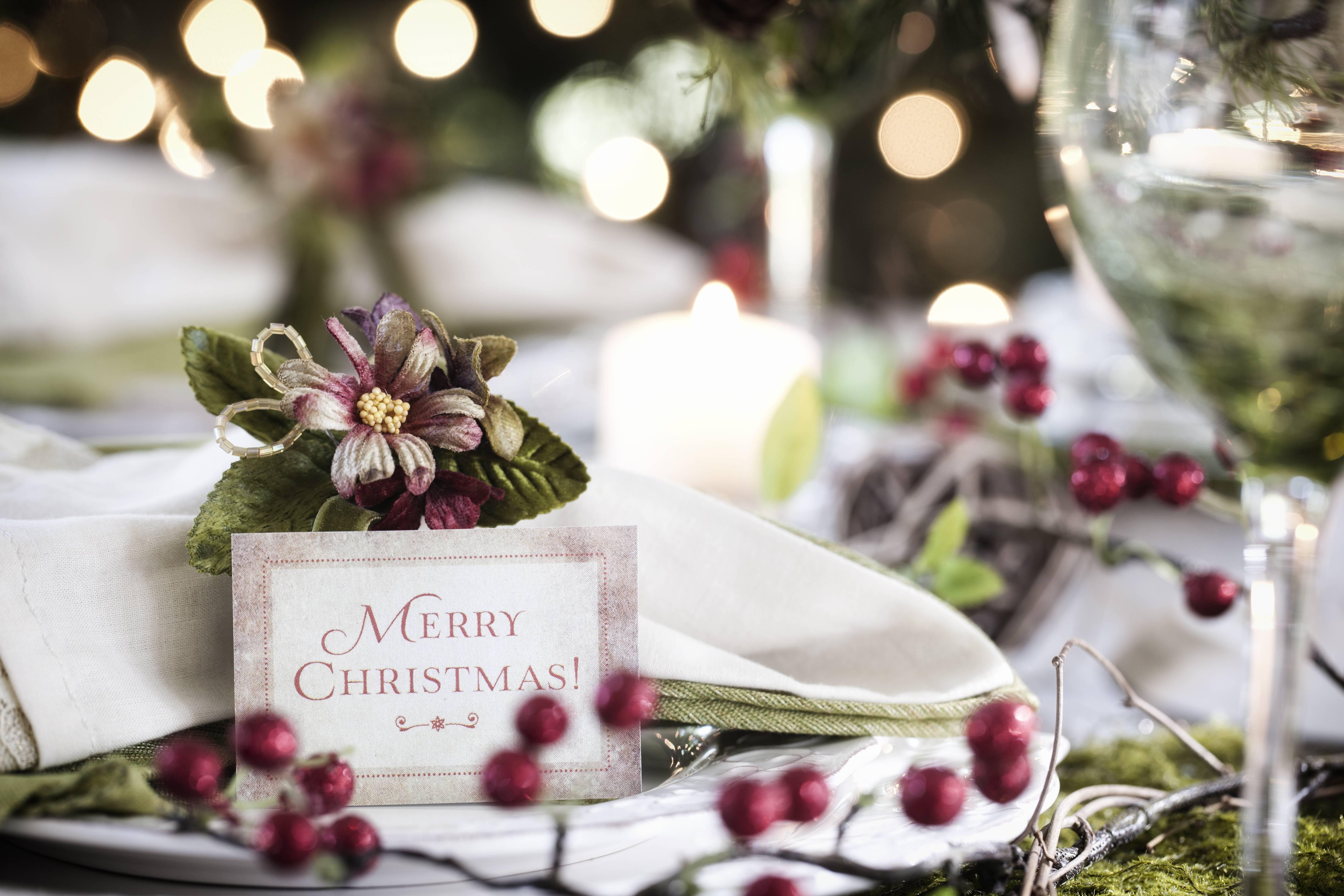 Natale 2018: i segnaposto fai da te