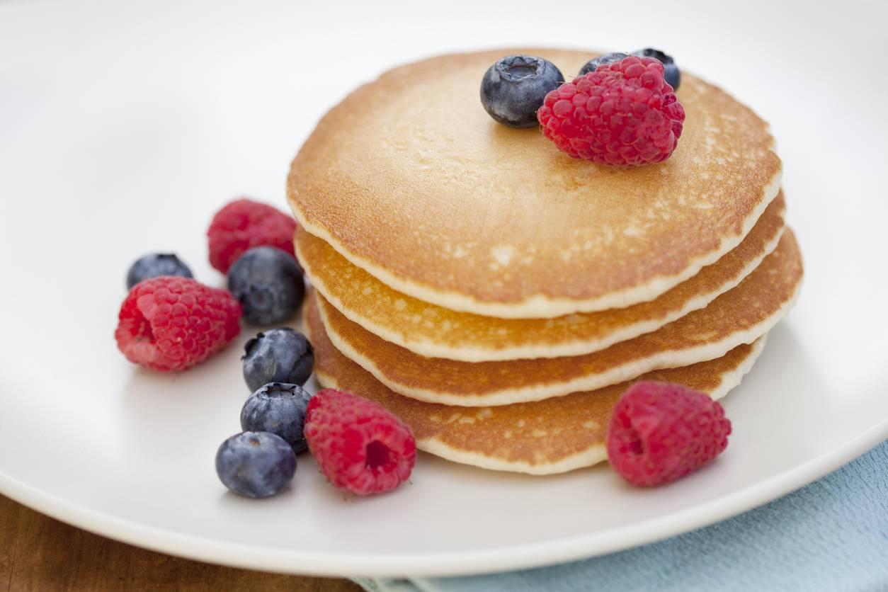 Ricetta Veloce Colazione.Pancake Ricetta Facile E Veloce Per Colazione Golosa