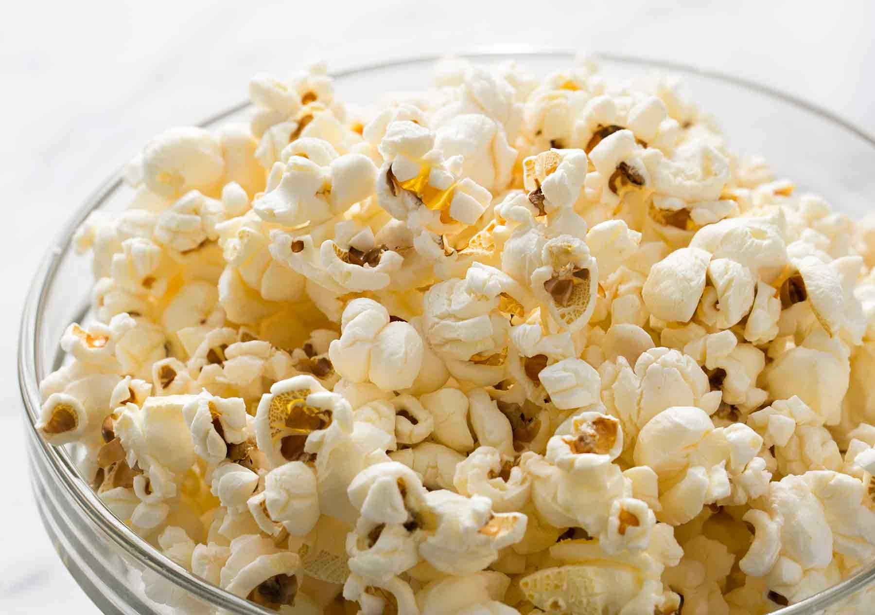 Pop corn: come mangiarli per non ingrassare