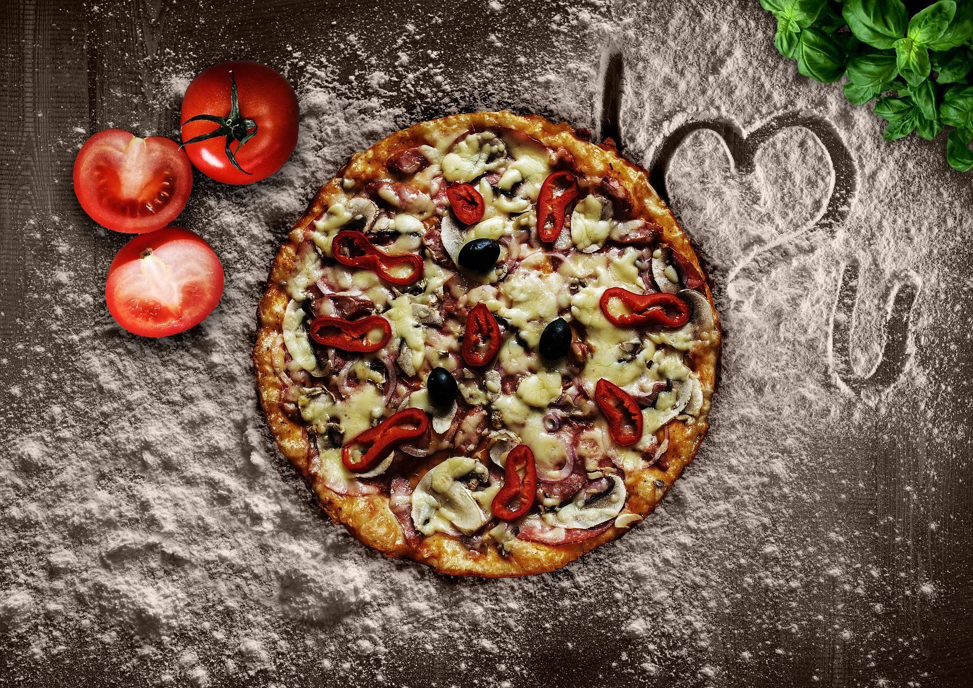 Pranzo di Natale per gli amanti della pizza