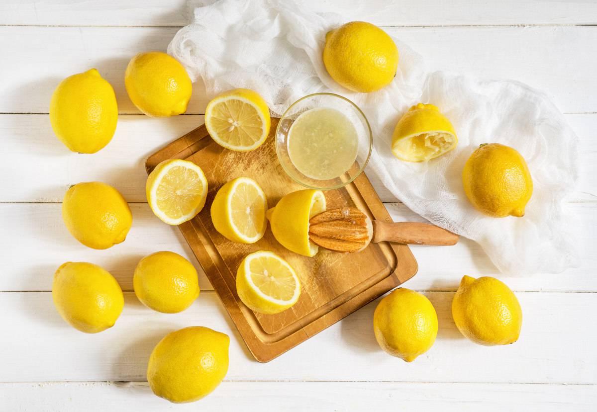 poteri del succo di limone