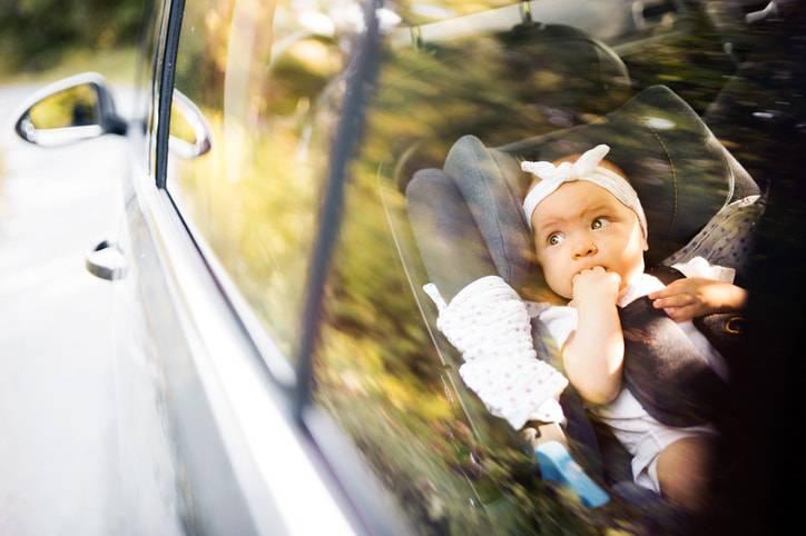 neonati in viaggio