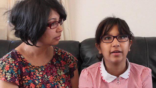 Ira Saxena, la bambina con la malattia più irritante al mondo