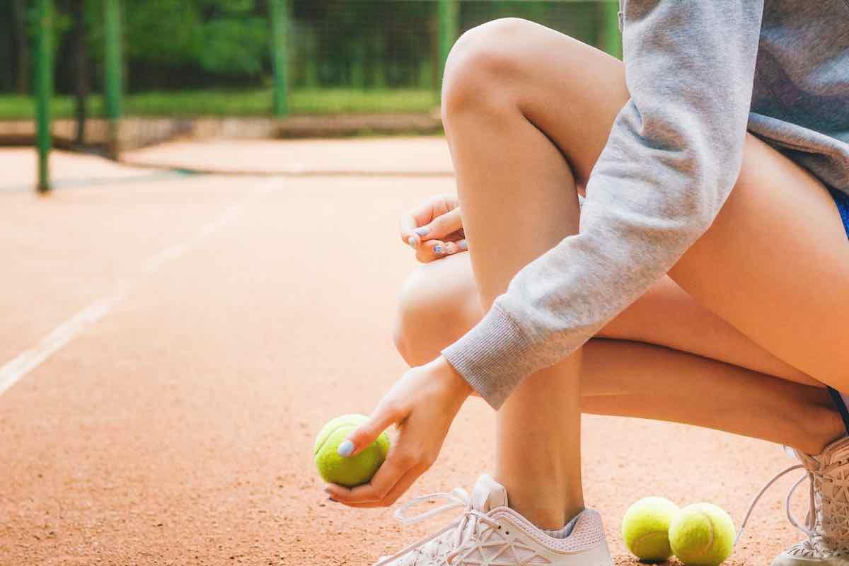 Dolori muscolari tennis