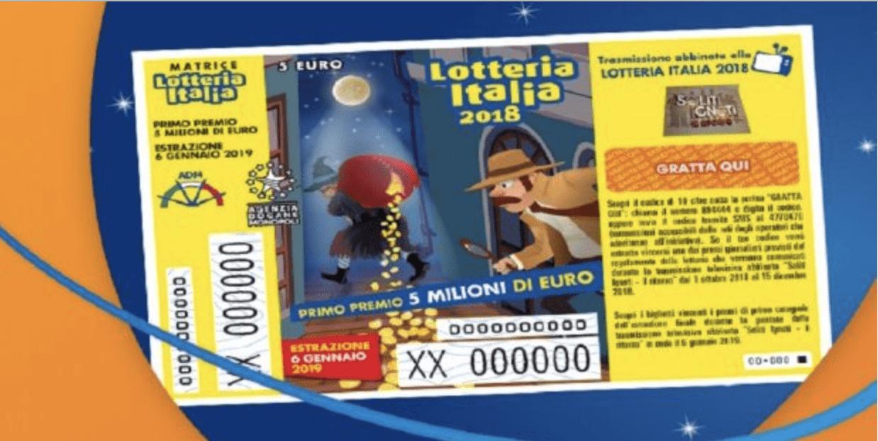 Lotteria Italia, estrazione il giorno dell'Epifania: come scoprire sei hai vinto