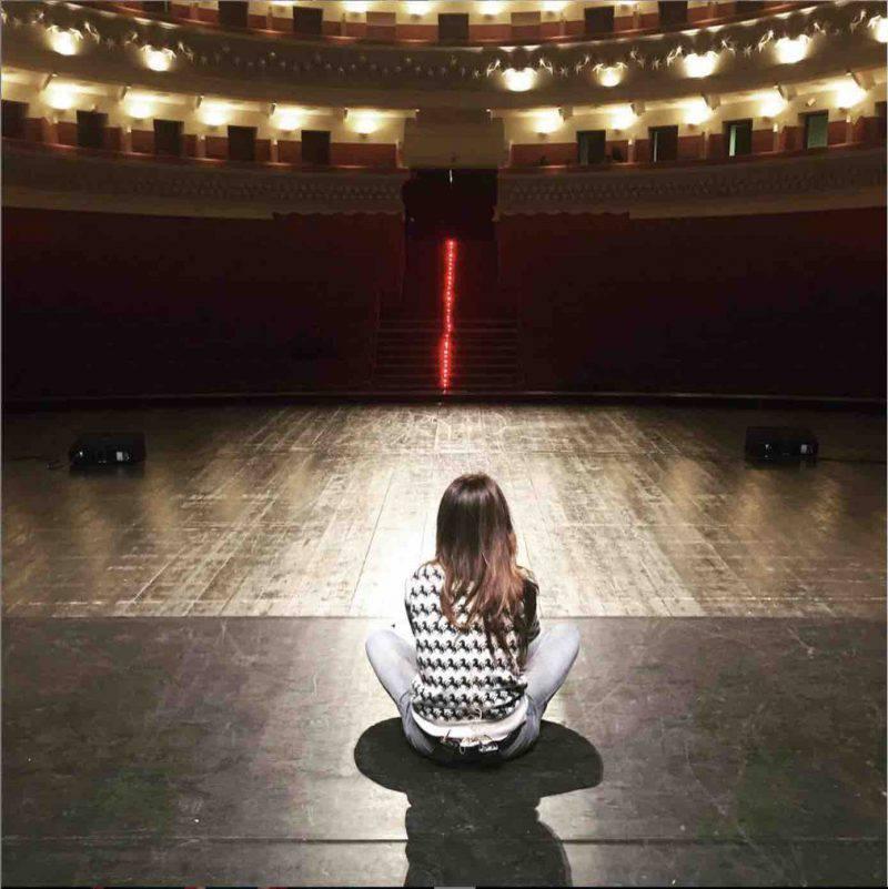 Virginia Raffaele teatro