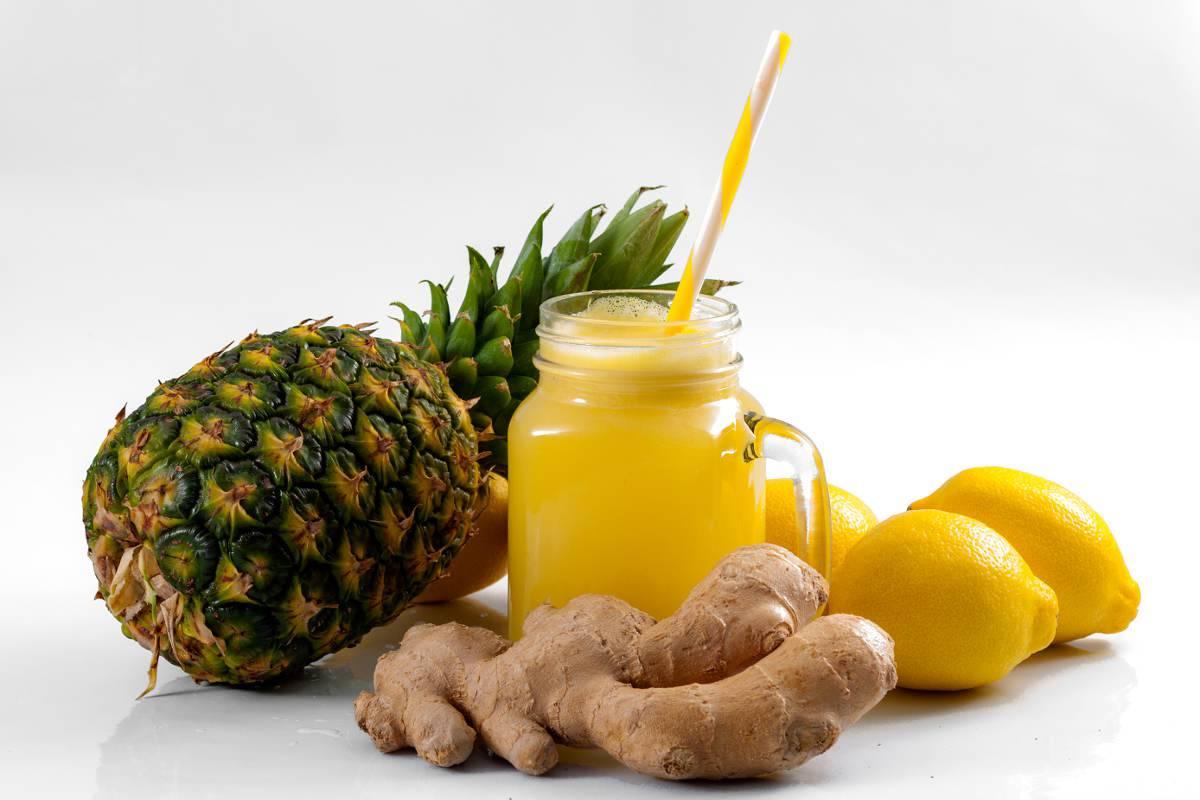 Dieta ananas e zenzero
