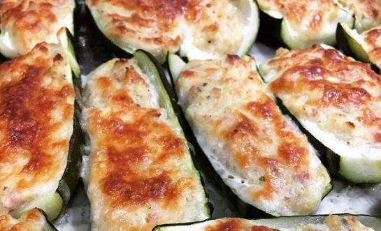 Cucinare facile ricetta sfiziosa come fare le zucchine ripiene - Cucinare le zucchine in modo dietetico ...