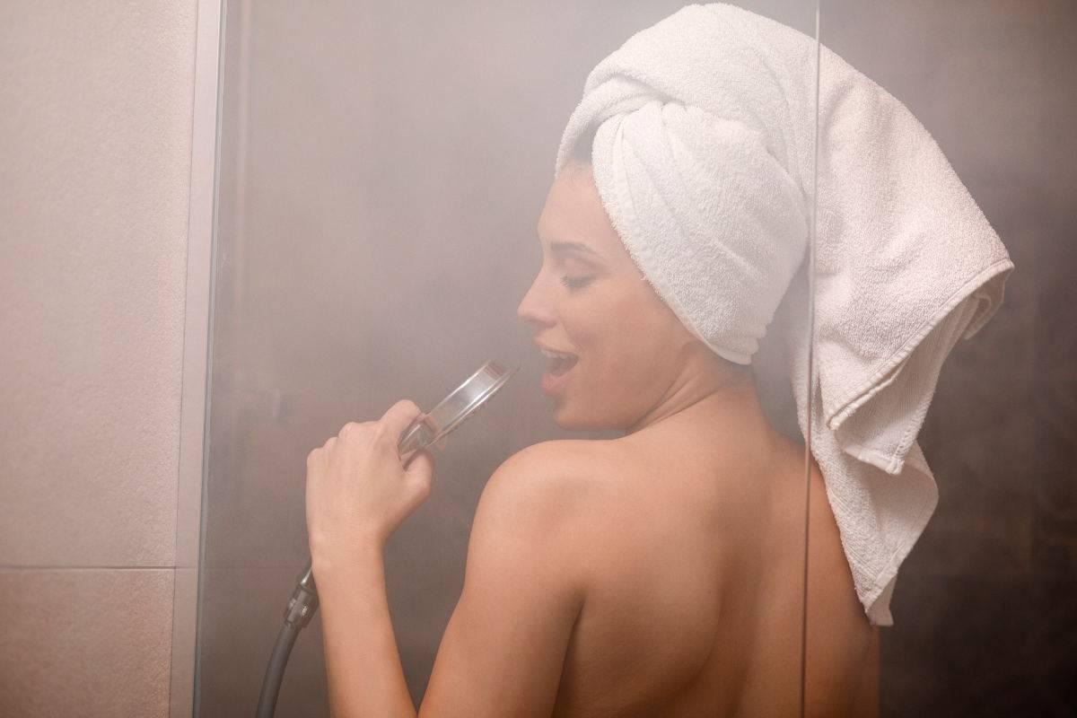 Cantare sotto la doccia