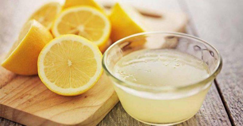 perdita di peso con succo di limone