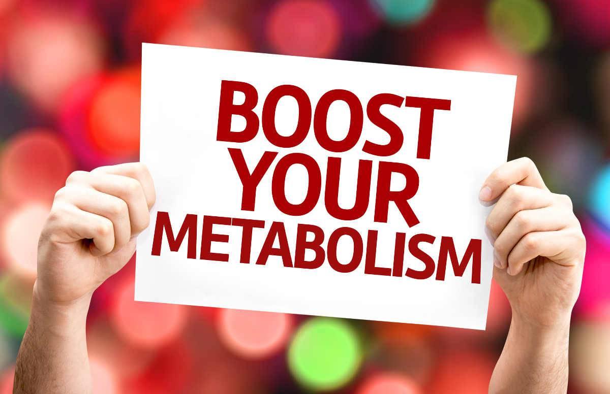 accelera il metabolismo