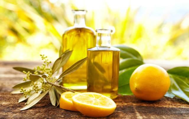 olio e succo di limone
