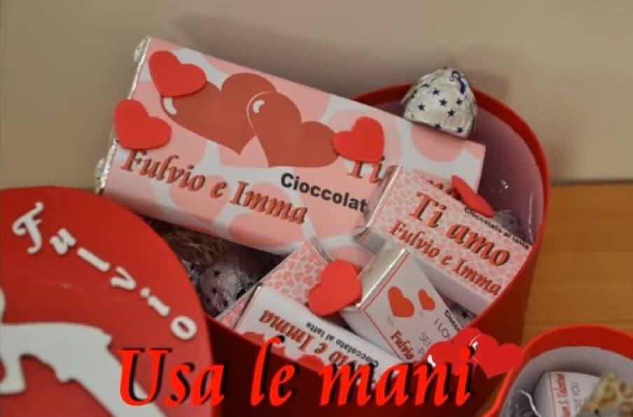 Come realizzare tavolette di cioccolato personalizzate per San Valentino