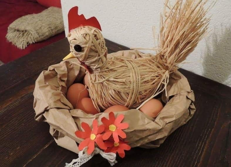 Come realizzare un centrotavola country per Pasqua