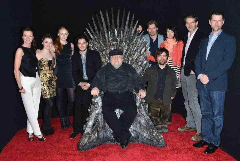 game of thrones, curiosità sulla serie tv
