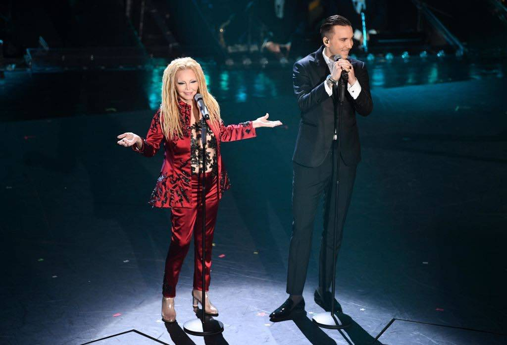 Patty Pravo and Briga Sanremo