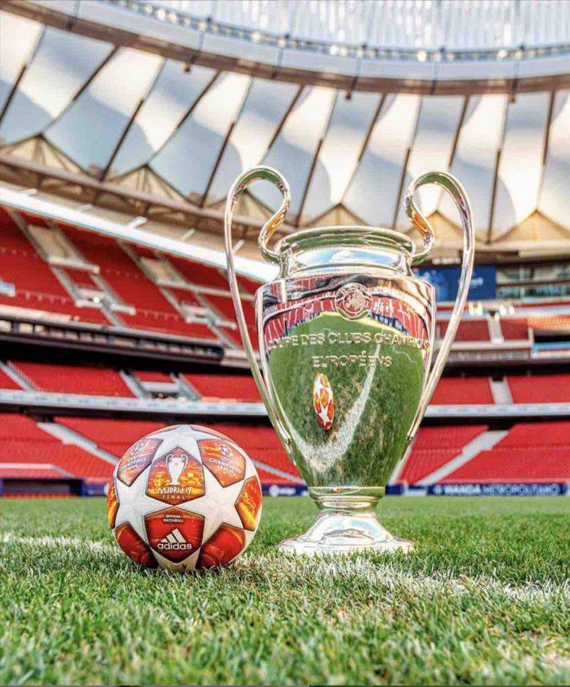 Champions League trofeo
