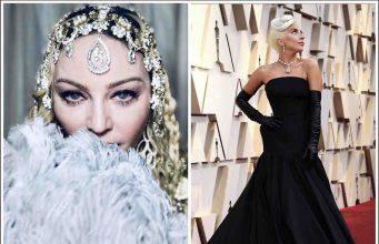 """Oscar 2019, Madonna e Lady Gaga: l'abbraccio delle """"ragazze italiane"""""""
