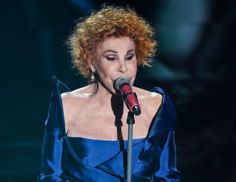 Ornella Vanoni ospite a Sanremo 2021 (Getty Images)