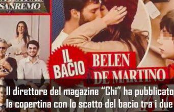 Belen Rodriguez e Stefano De Martino: il settimanale 'Chi' lancia lo scoop