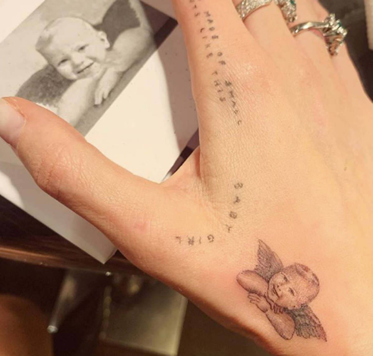 Chiara Ferragni tatuaggio Leone