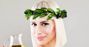pelle più bella con olio d'oliva