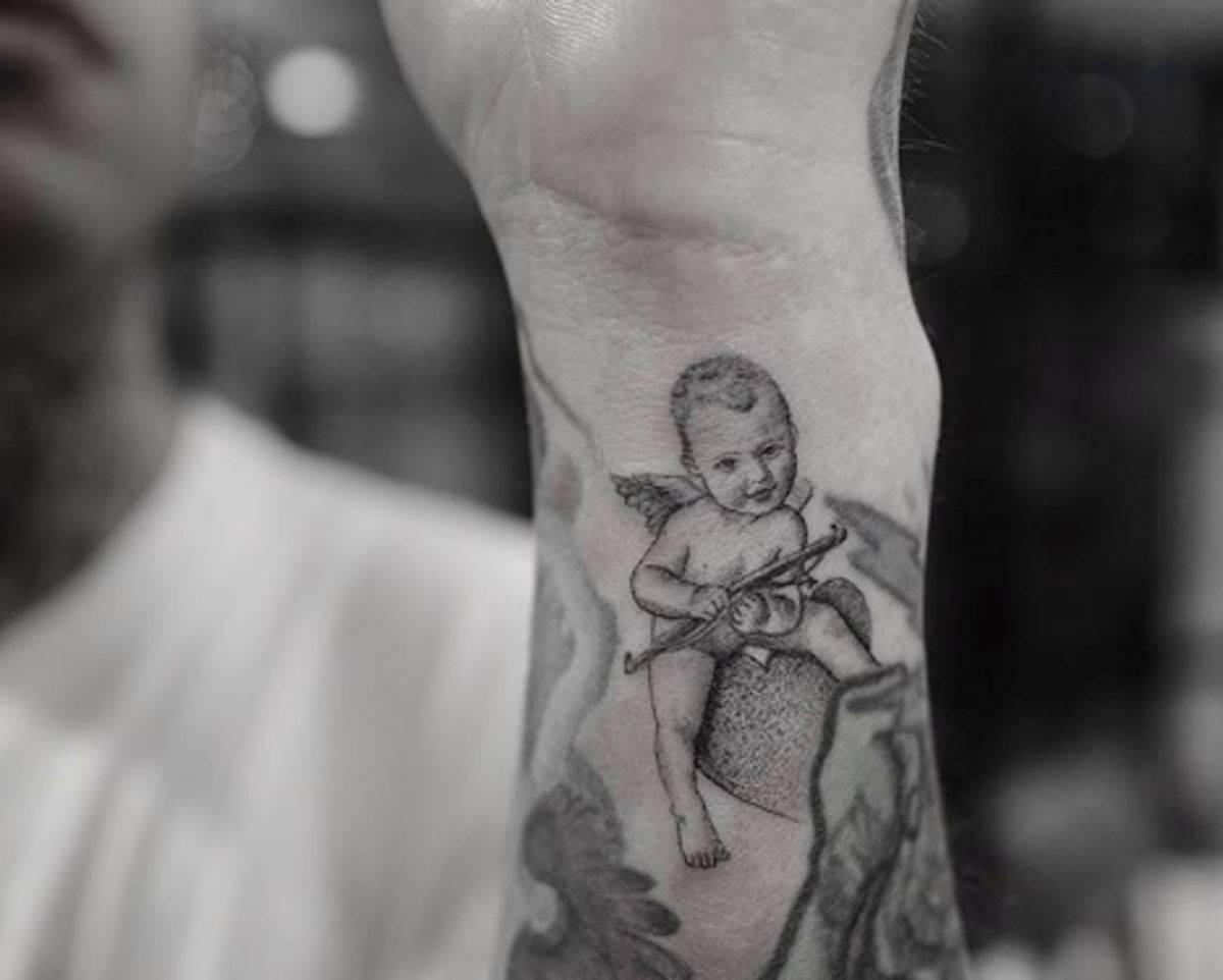 Fedez e tatuaggio Leone