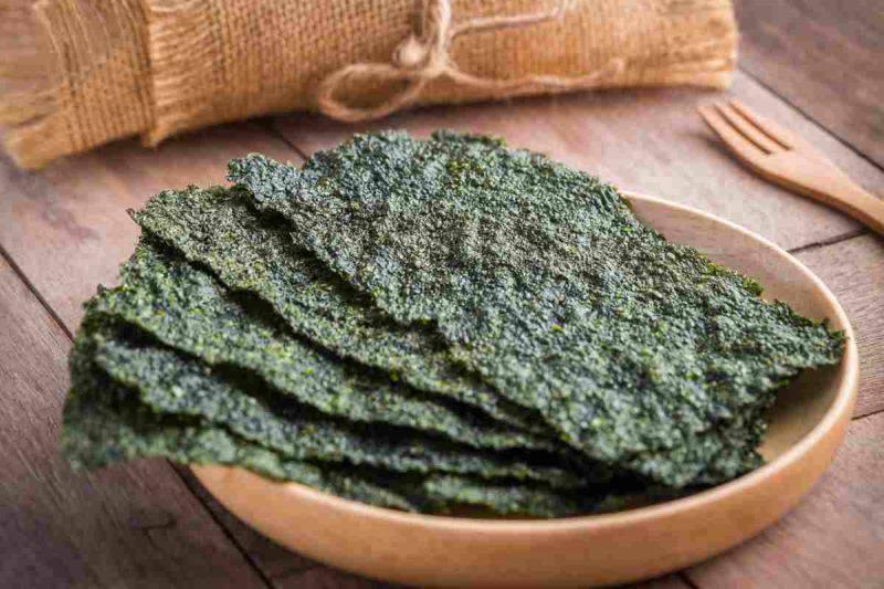 risotto con alghe nori