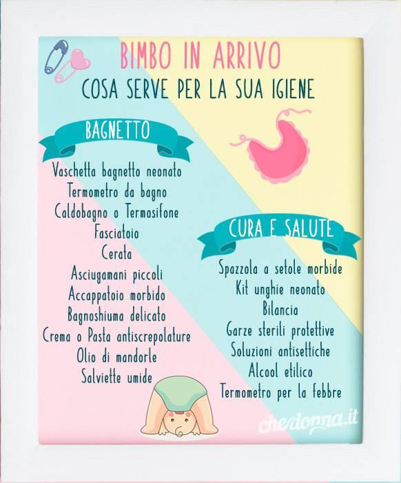 come curare neonato igiene