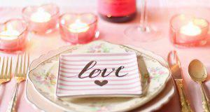 Centrotavola fai da te per San Valentino