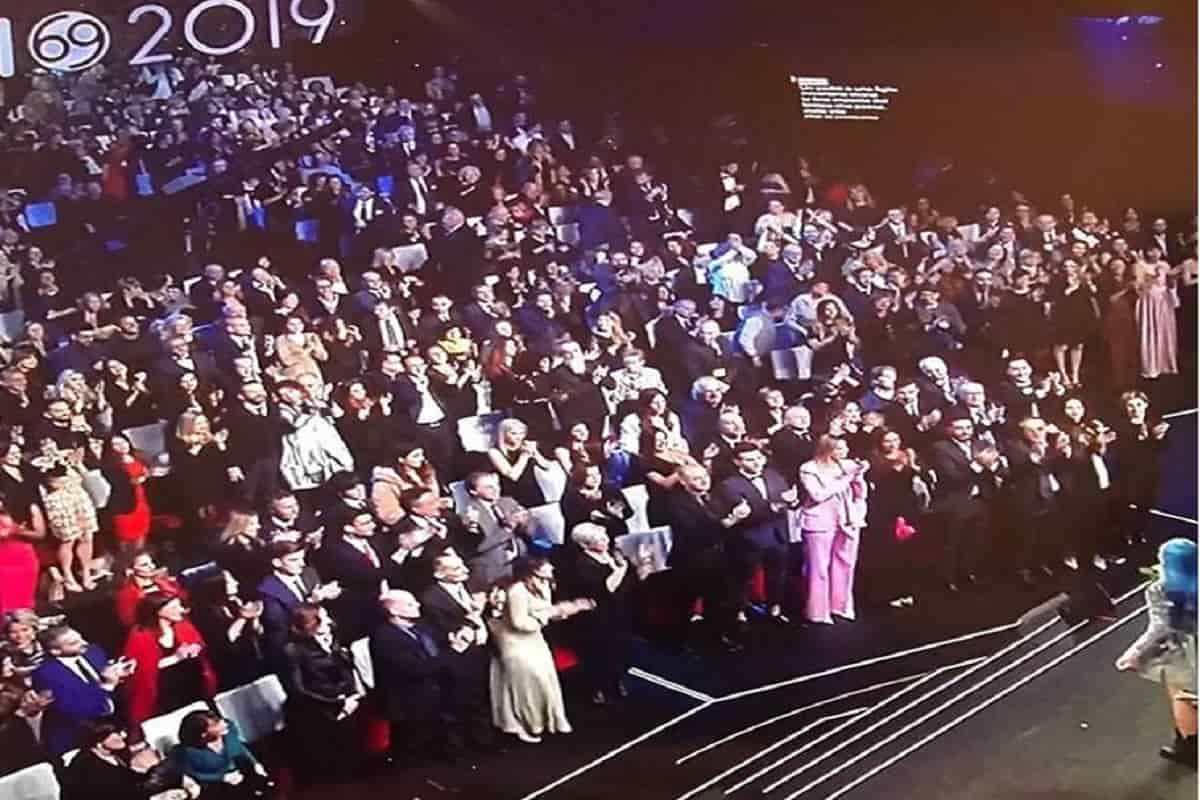 sanremo 2019 standing ovation oredana bertè