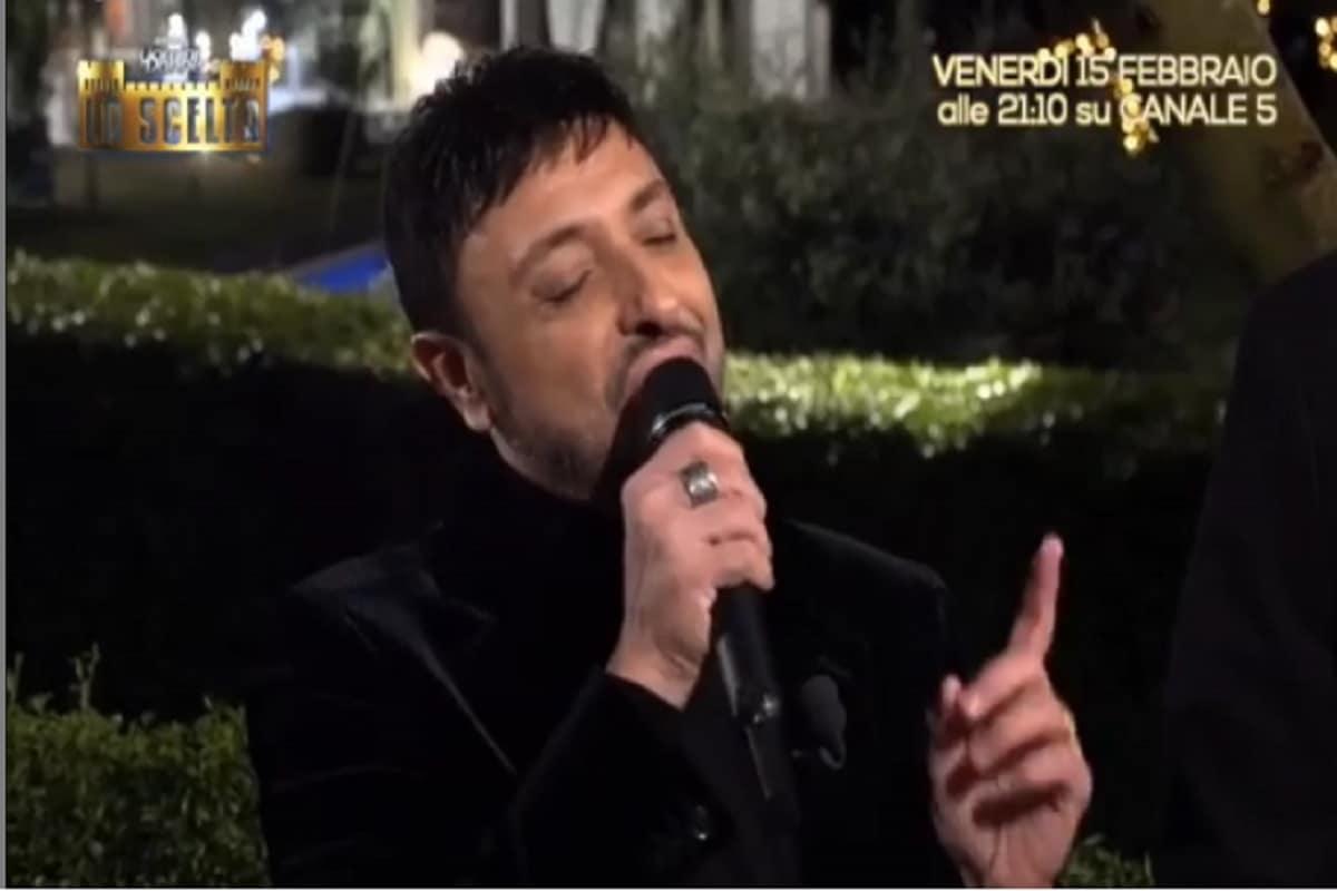scelta teresa langella serenata gigi finizio testo canzone amore amaro