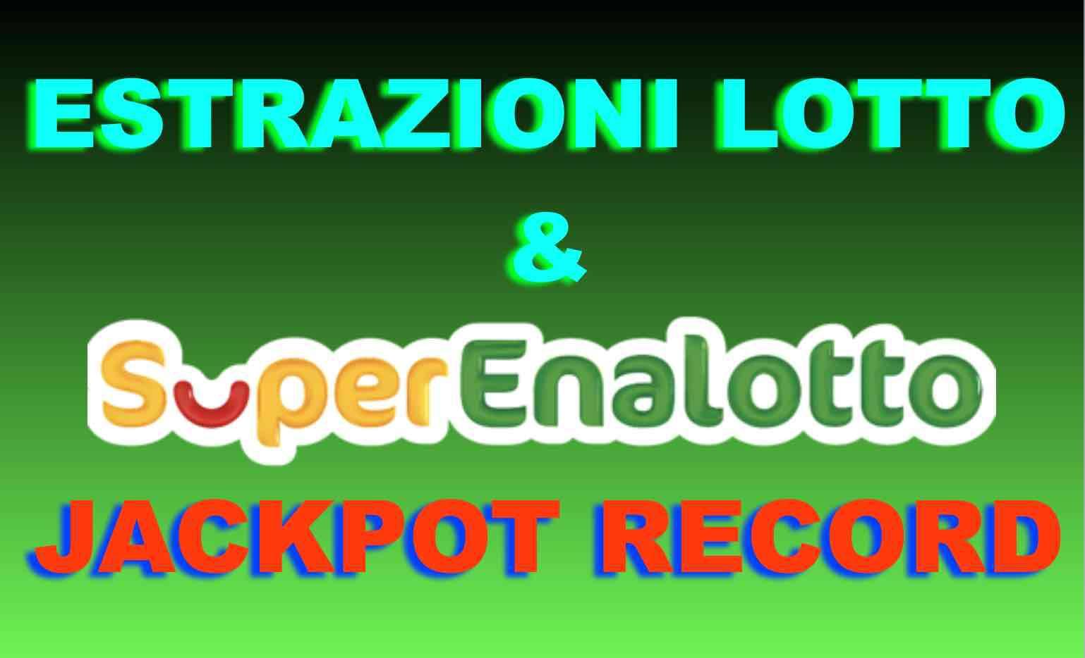 Estrazione Lotto 10elotto superenalotto oggi febbraio 2019 numeri vincenti diretta video marzo