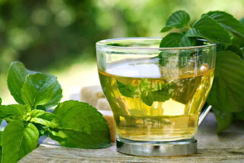 benefici tè verde alla menta