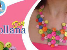 Fai da te: collana estiva con bottoni colorati