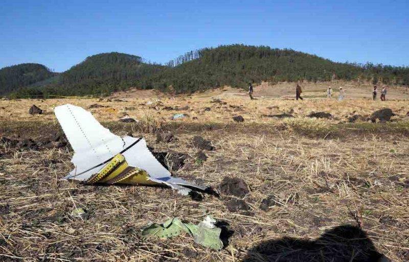 incidente aereo Etiopia