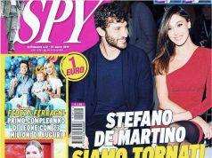 Stefano De Martino e Belen Rodriguez spyware