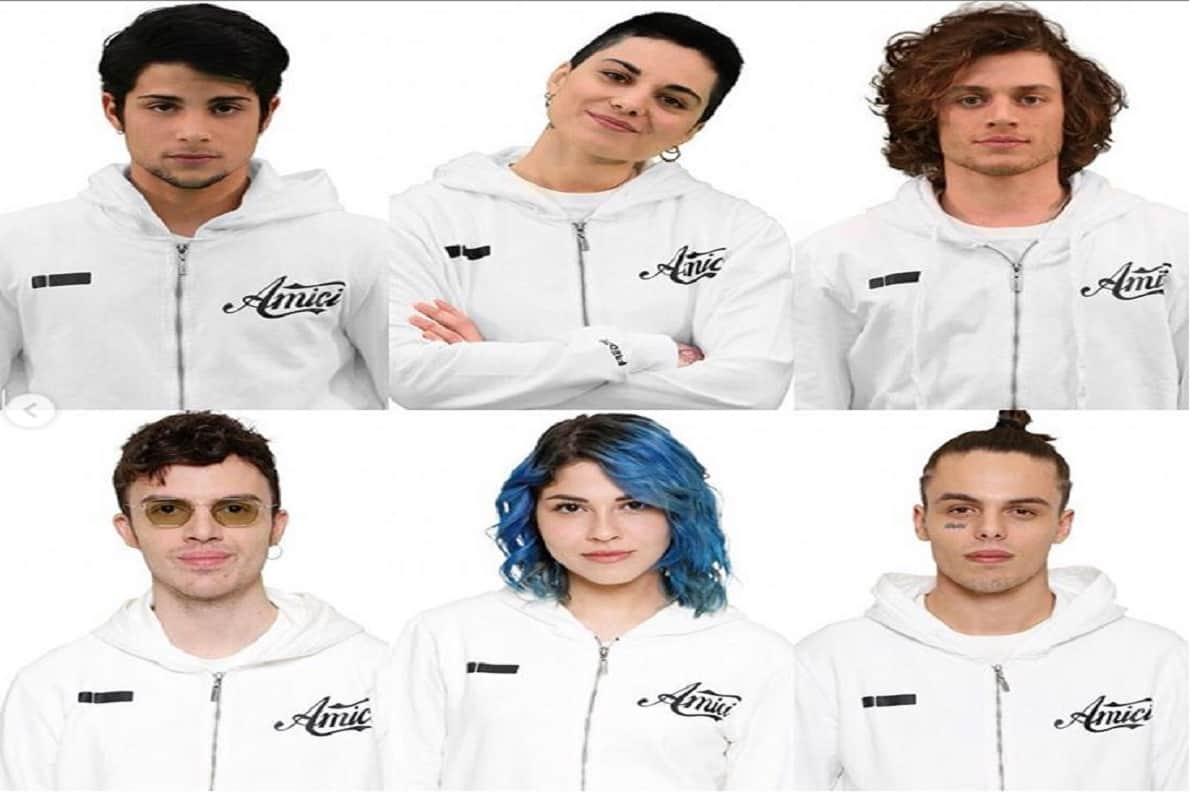 amici 2019 serale squadra bianca