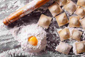 ricetta primo piatto ravioloni