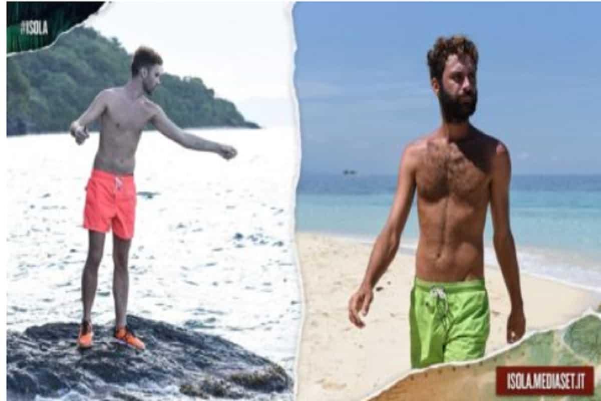 luca vismara kg persi isola dei famosi 2019