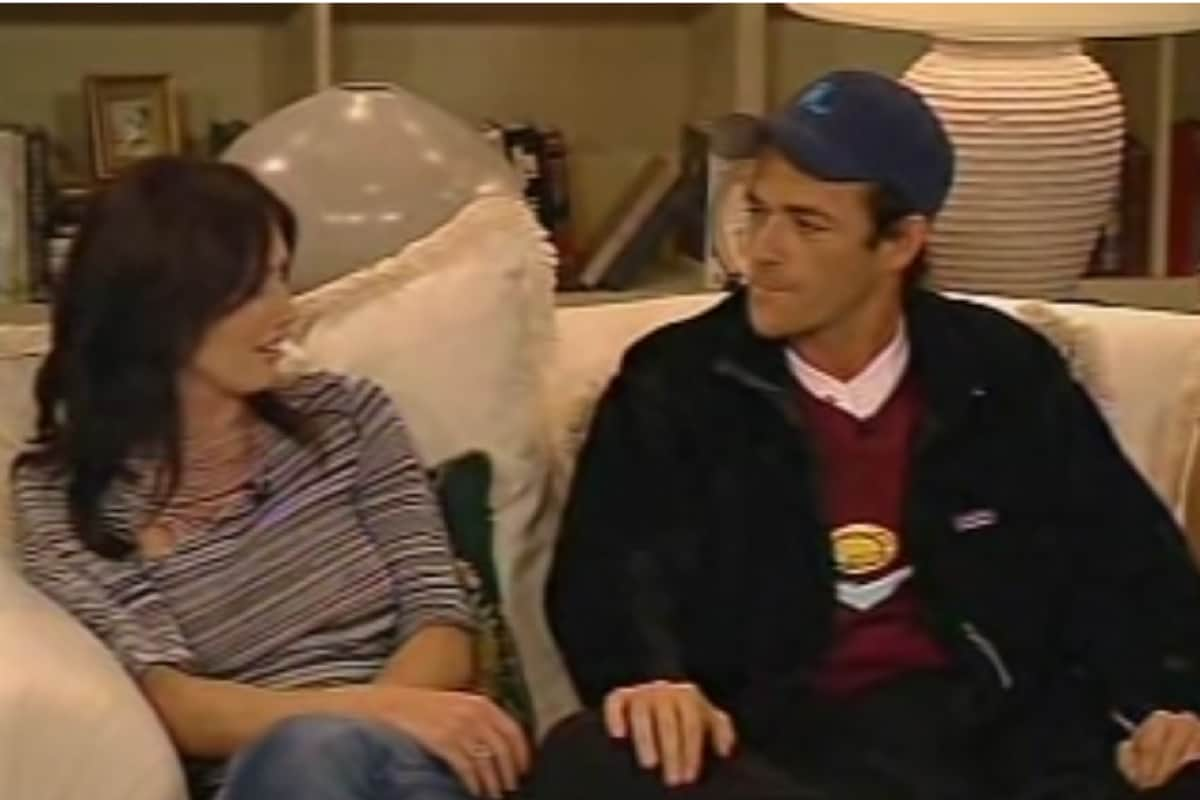 luke perry e shannon doherty