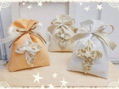 Come creare un sacchetto porta confetti per la Prima Comunione