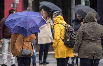 Meteo giovedì 14 marzo: piogge sparse e neve al sud