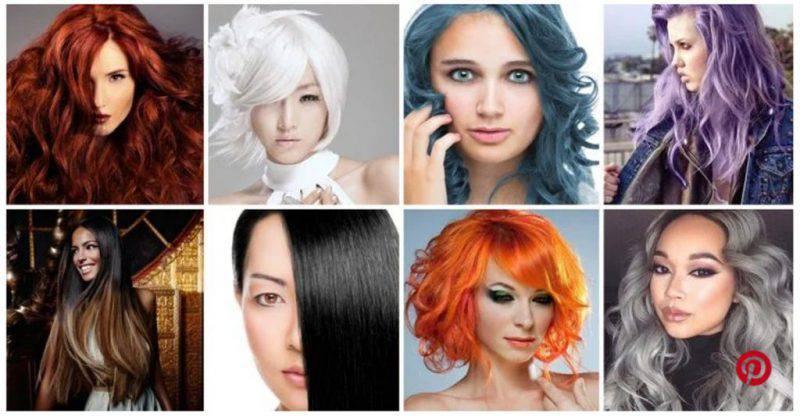 Test colore capelli personalita