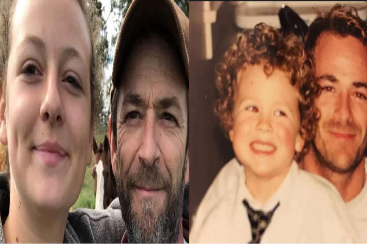Jack Perry Sophie Perry: Sophie E Jack Perry, Il Dolore Per La Morte Di Papà Luke
