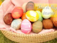 Come decorare le uova di Pasqua da mettere in tavola