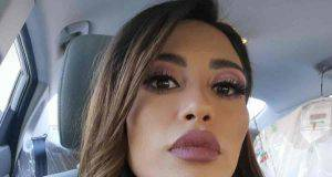 Mila Suarez attacca alex belli
