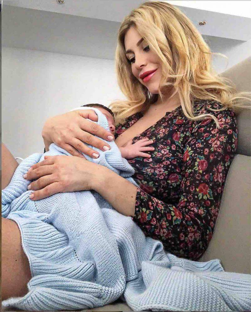 Paola Caruso figlio