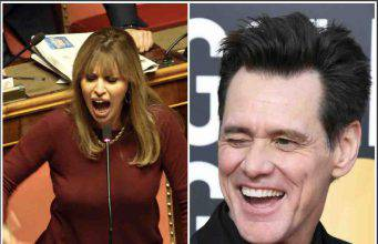 Jim Carrey risposta al vetriolo per Alessandra Mussolini:  –  VIDEO