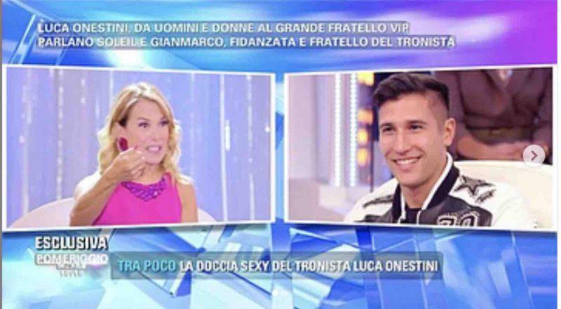 Gianmarco Onestini pomeriggio 5